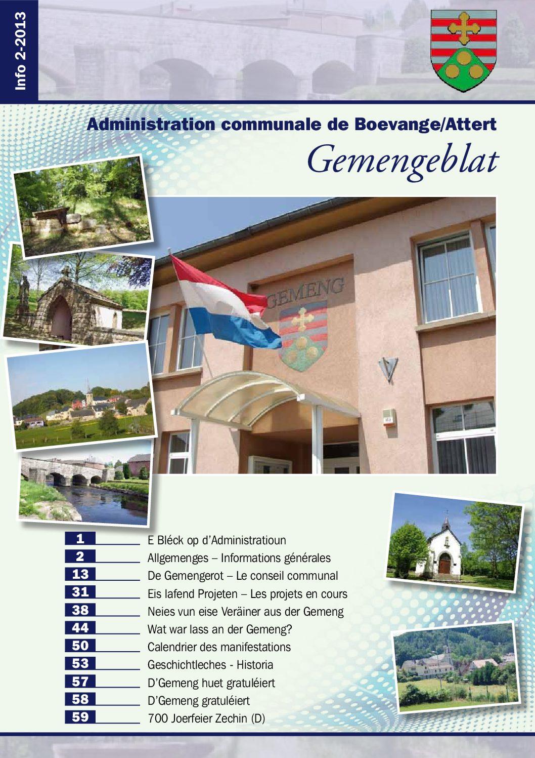 Béiwener Gemengeblat 2013-02