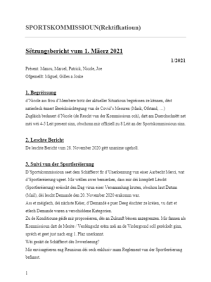 2021-03-01 Sports