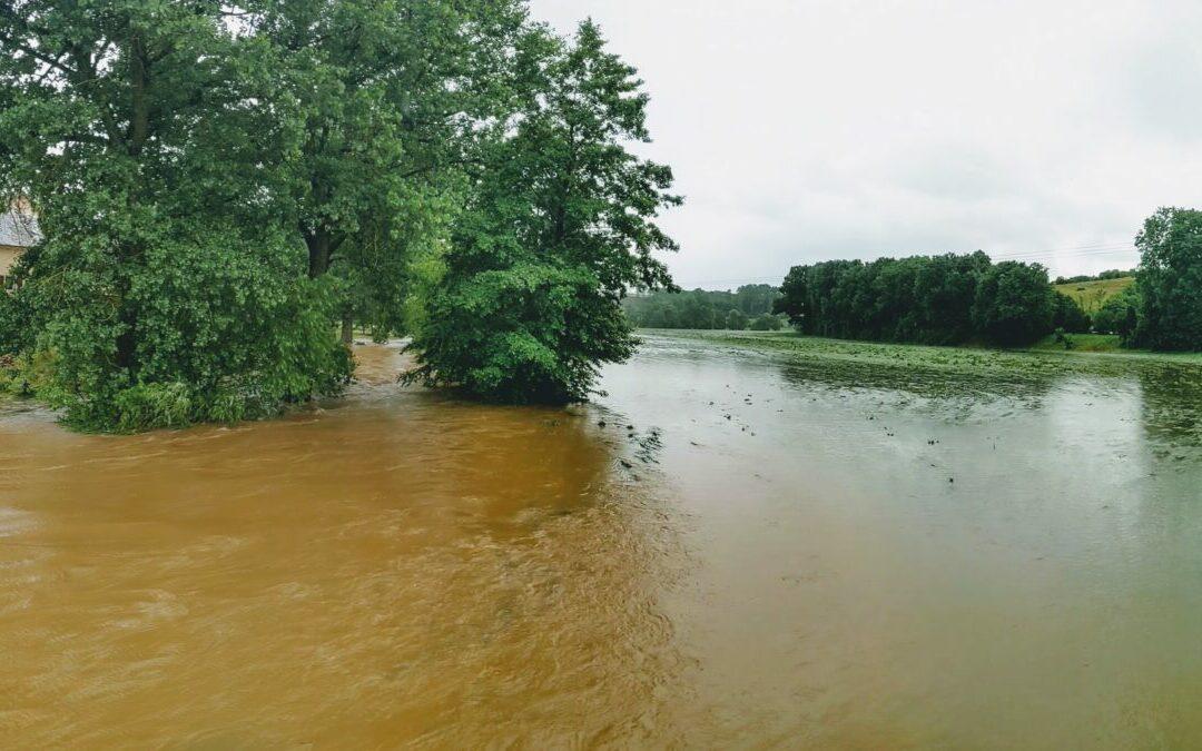 Iwwerschwemmungen an der Gemeng Helperknapp