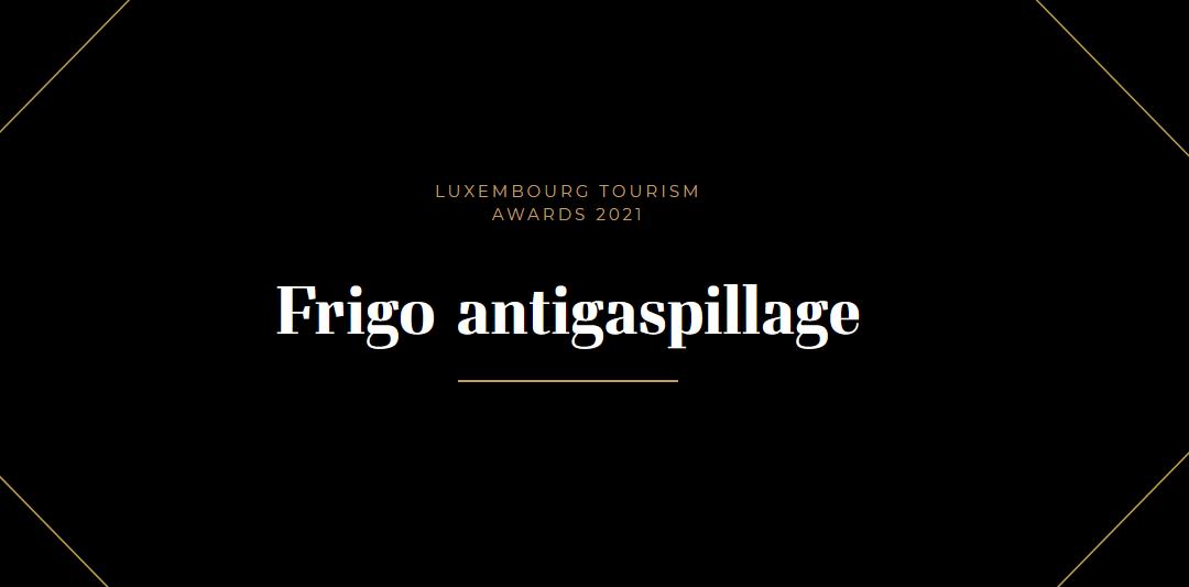 Frigo antigaspillage – Luxembourg Tourism Awards