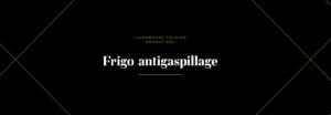 Frigo antigaspillage - Luxembourg Tourism Awards